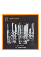 Nachtmann 4er-Set Longdrinkgläser HIGHLAND, Farbe: TRANSPARENT (Bild 1)