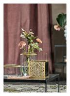 A SIMPLE MESS Vase KAYSA, Farbe: TRANSPARENT/ GOLD  (Bild 1)