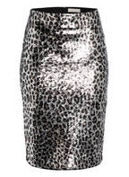 MICHAEL KORS Rock mit Paillettenbesatz, Farbe: GUNMETAL (Bild 1)
