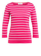 DARLING HARBOUR Pullover mit 3/4-Arm, Farbe PINK/ WEISS GESTREIFT (Bild 1)