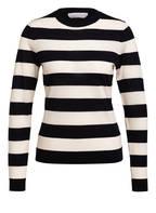 BOSS Pullover FECILIA , Farbe BLAU/ WEISS GESTREIFT (Bild 1)