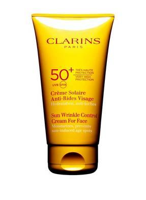 CLARINS CRÈME SOLAIRE ANTI-RIDES SPF 50+