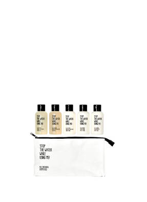 STOP THE WATER WHILE USING ME! ALL NATURAL COSMETICS TRAVEL KIT