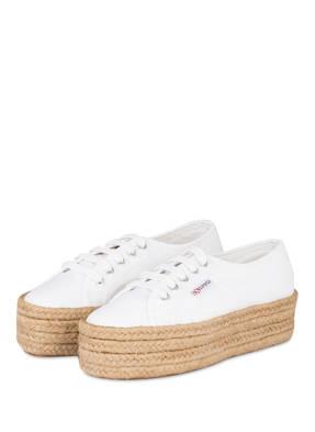 SUPERGA Plateau-Sneaker COTROPEW im Espadrilles-Stil