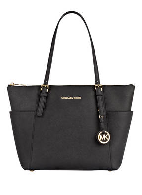 MICHAEL KORS Saffiano-Shopper JET SET ITEM SMALL