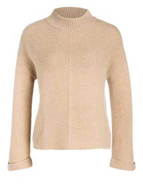 DARLING HARBOUR Cashmere-Pullover mit Struktur