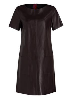 BOSS Orange Kleid APELLILY in Lederoptik