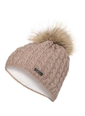 norton Mütze mit Pelzbommel