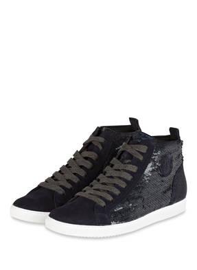 paul green Hightop-Sneaker mit Pailleten