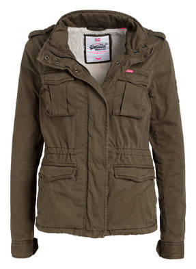 Superdry Kurzparka WINTER ROOKIE