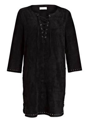 velvet Kleid RALEIGH in Velourslederoptik