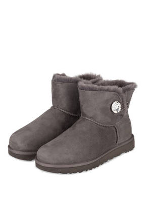 UGG Boots MINI BAILEY BUTTON BLING mit Swarovski Kristallen