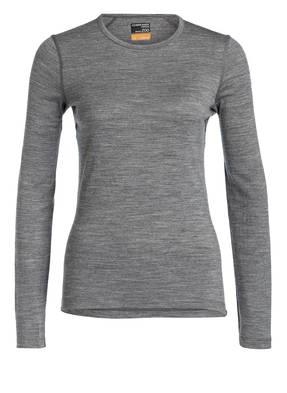 icebreaker Funktionswäsche-Shirt OASIS CREW aus Merinowolle