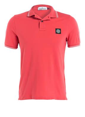 STONE ISLAND Piqué-Poloshirt Slim-Fit