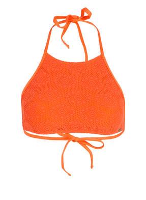 BANANA MOON COUTURE High-Neck-Bikini-Top PANSY CROCHET