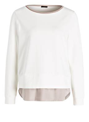 PESERICO Sweatshirt im Materialmix
