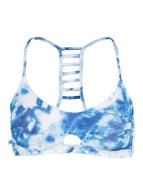 SEAFOLLY Bustier-Bikini-Top CARIBBEAN INK zum Wenden