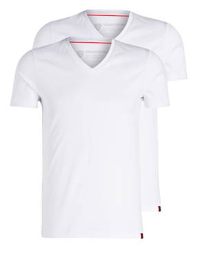 strellson 2er-Pack V-Shirts