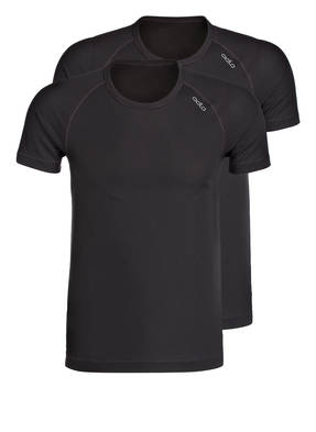 odlo 2er-Pack Funktionswäsche-Shirt CUBIC