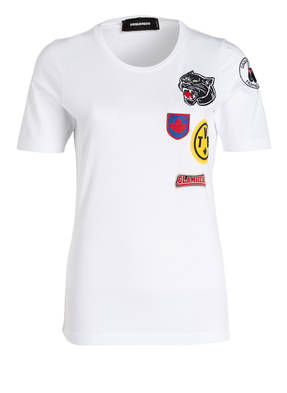DSQUARED2 T-Shirt mit Patches
