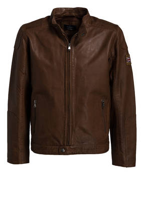 HACKETT LONDON Lederblouson