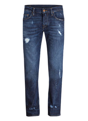 TRUE RELIGION Destroyed-Jeans ROCCO Relaxed-Skinny-Fit