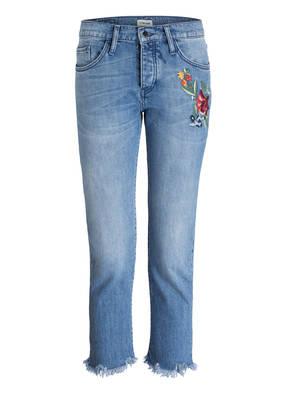 rich&royal Cropped-Jeans mit Stickerei