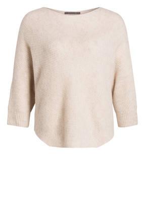 RENÉ LEZARD Cashmere-Pullover mit 3/4-Arm