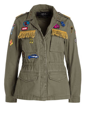 REPLAY Fieldjacket mit Patches