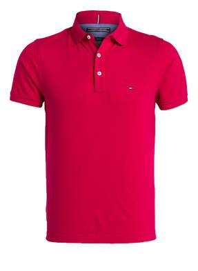 TOMMY HILFIGER Piqué-Poloshirt Slim-Fit
