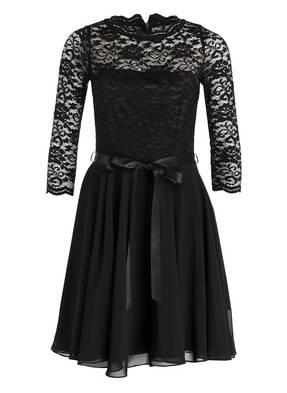 SWING Kleid mit Spitzenbesatz