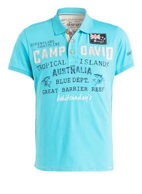 CAMP DAVID Jersey-Poloshirt
