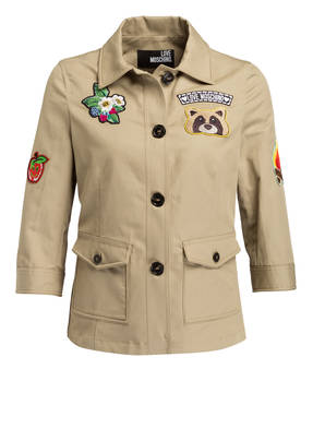 LOVE MOSCHINO Jacke mit Patches