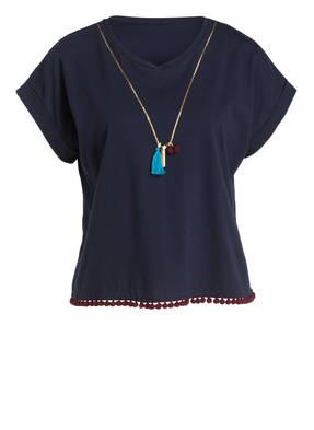 lilienfels T-Shirt mit Pompons