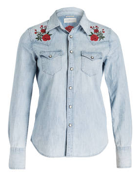 DENIM & SUPPLY RALPH LAUREN Jeansbluse mit Patches