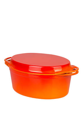 LE CREUSET 2-in1-Bräter mit Grilldeckel