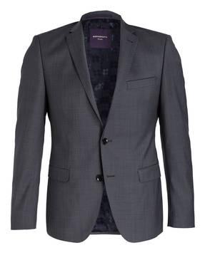 BENVENUTO purple Kombi-Sakko ADON Modern Slim-Fit
