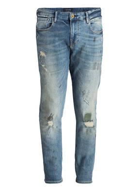 SCOTCH & SODA Destroyed-Jeans TYE Slim Carrot-Fit