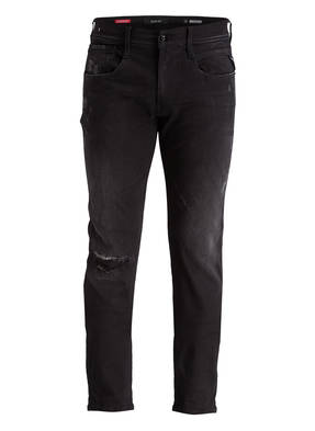REPLAY Destroyed-Jeans ANBASS HYPERFLEX Slim Fit