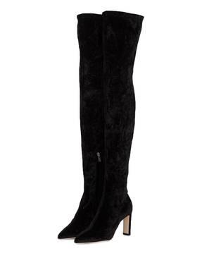 JIMMY CHOO Overknee-Stiefel LORRAINE 85 aus Samt