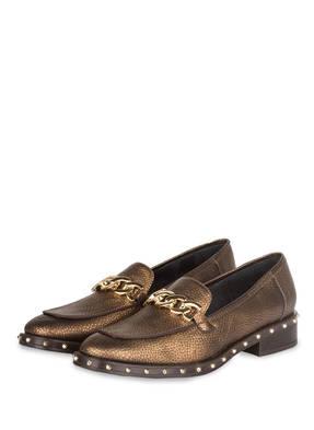 kanna Loafer mit Nietenbesatz