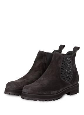 Pertini Chelsea-Boots mit Nietenbesatz