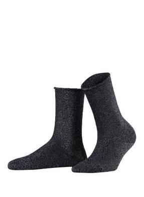 FALKE Socken SHINY mit Glitzergarn