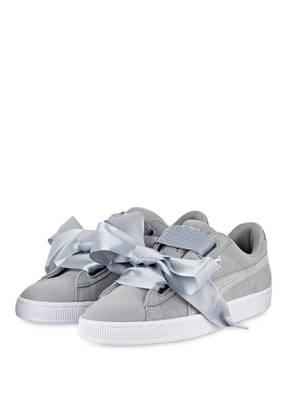 PUMA Sneaker BASKET HEART METALLIC
