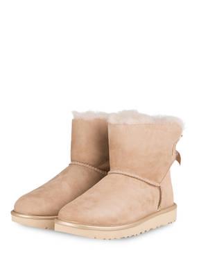 UGG Boots MINI BAILEY BOW METALLIC