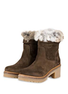 Alpe Boots mit Fellbesatz