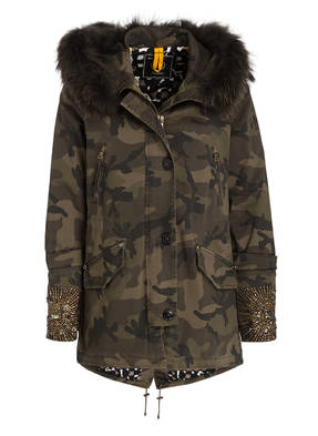 BLONDE No.8 Parka PARIS mit Fellbesatz
