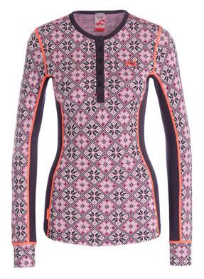 KARI TRAA Funktionswäsche-Shirt ROSE aus Merinowolle