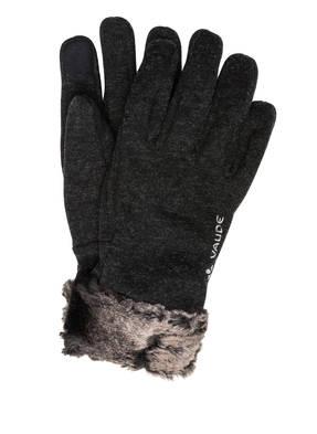 VAUDE Handschuhe TINSHAN mit Fellbesatz