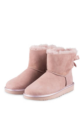 UGG Boots MINI BAILEY BOW METALLIC